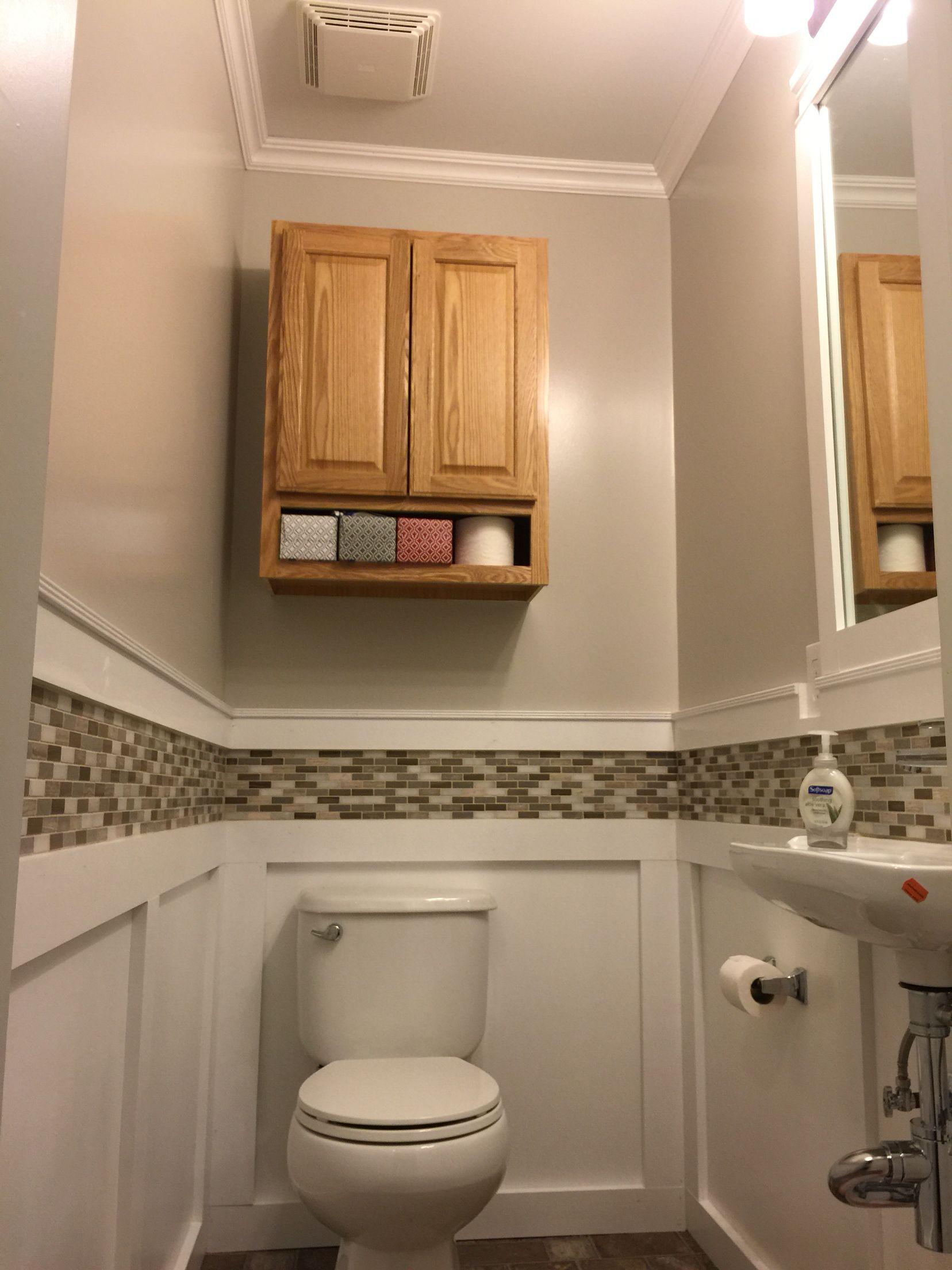 "6x6 Half bath remodel. Sink sticks out 6"" from allmodern.com"