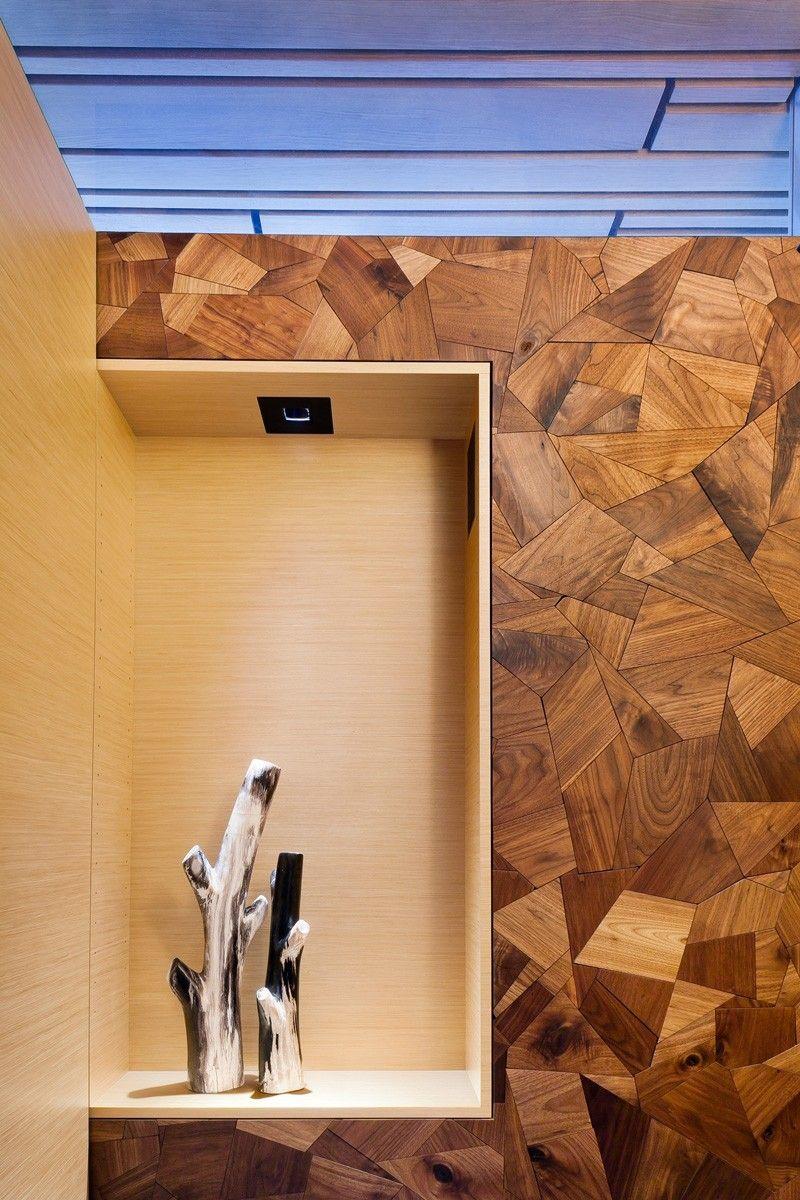 Window decor and more orange beach  wood wall  abstract mosaic  节点details  pinterest  wood