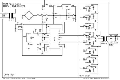 Surprising Sine Wave Inverter Circuit Diagram The Wiring Diagram Circuit Wiring Database Numdin4X4Andersnl