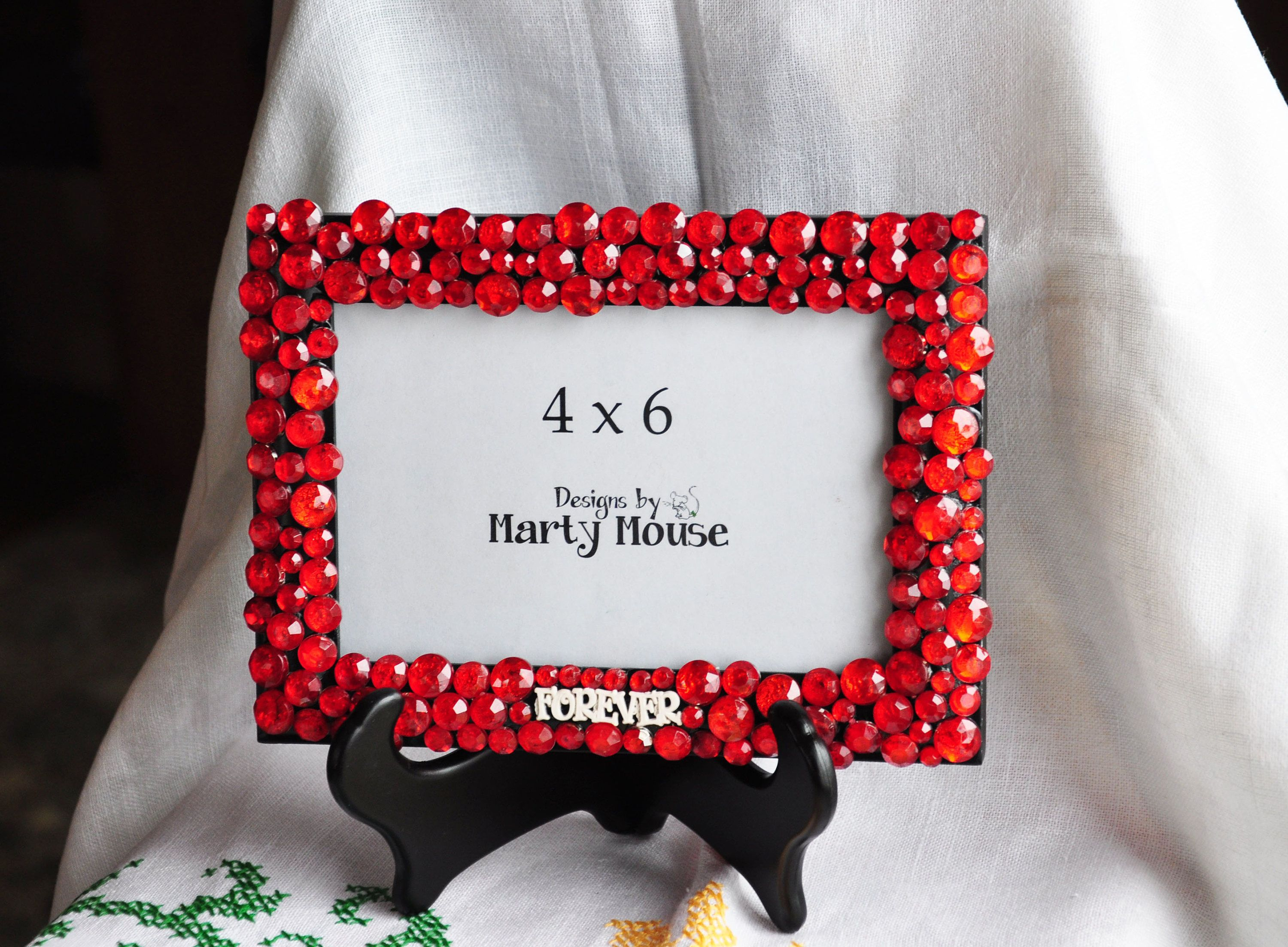 Valentines Day Picture frame/Love PIcture frame/Red Picture Frame ...