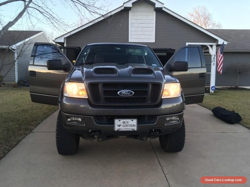 Car For Sale 2004 Ford F 150 Fx4 Extended Cab Pickup 4 Door