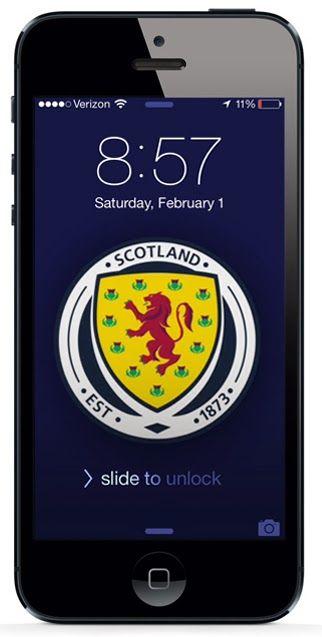 Free Iphone Wallpaper Download Soccer Scotland Kickin