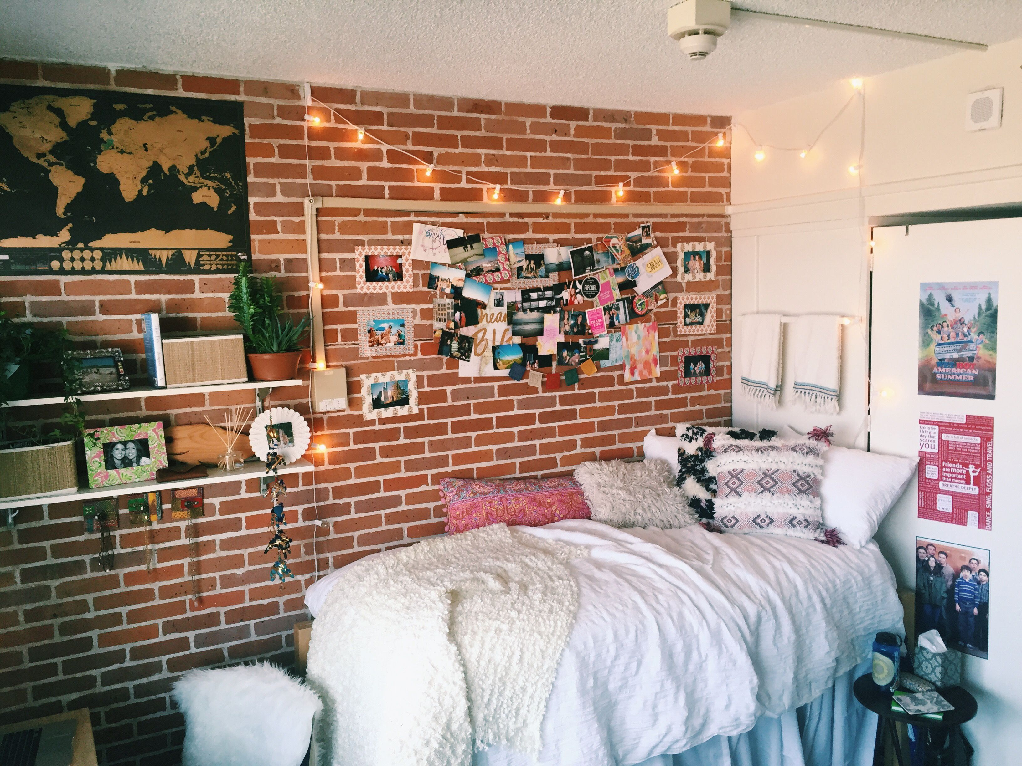 211 best Dorm Inspiration images on Pinterest | Homes, Bed and ...