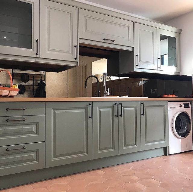 Premiere Klasse | Luxury Kitchens Surrey | Bathroom Showroom Hampshire -   19 sage green kitchen cabinets two tone ideas
