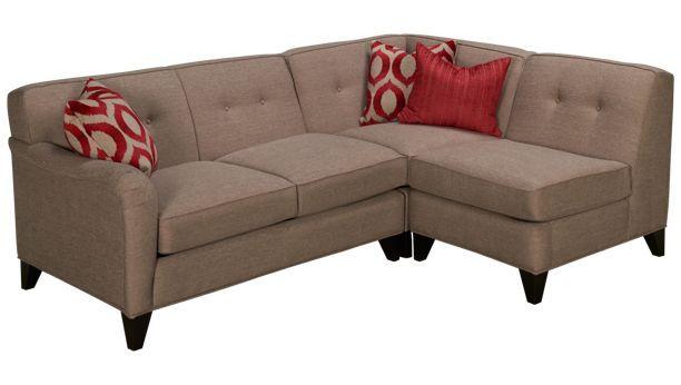 Jonathan Louis Studio Studio 3 Piece Sectional Jordan S Furniture 3 Piece Sectional Leather Sectional