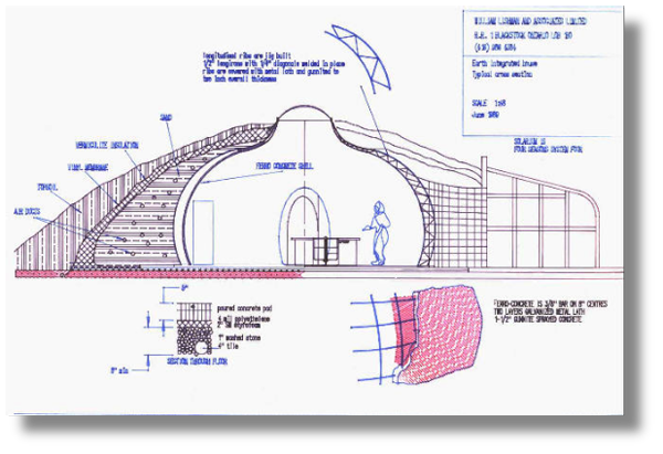 Underground Ferrocement Homes Natural Building Blog Dome Home Dome House Underground Homes