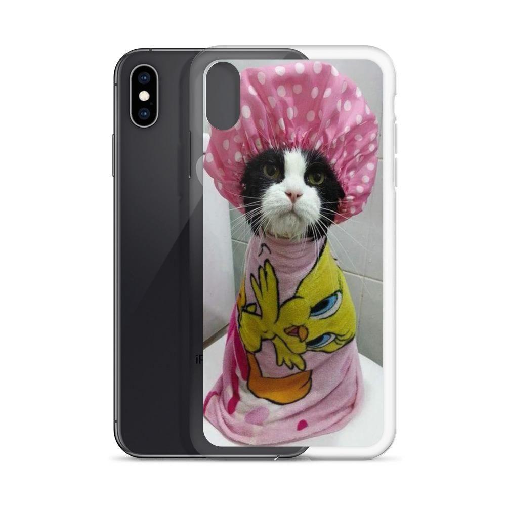 Shower Cat Premium Iphone Case Case S Phone Cute Iphonecase Bhfyp Iphonexcase Cases Samsung Mobilecase Iphone Cases Tempered Glass Iphone Iphone