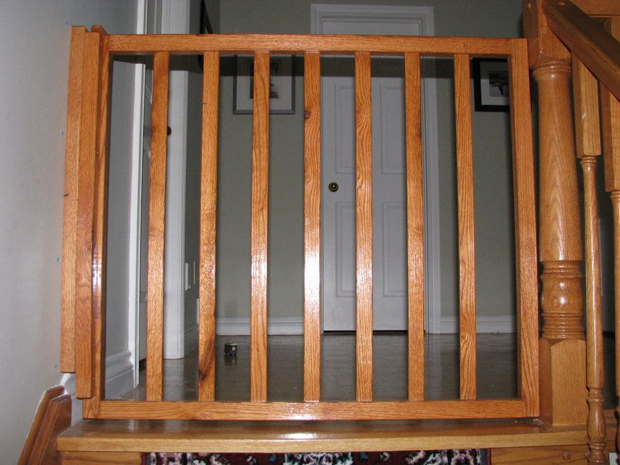 Diy Baby Gate Wooden Baby Gates Baby Gate For Stairs