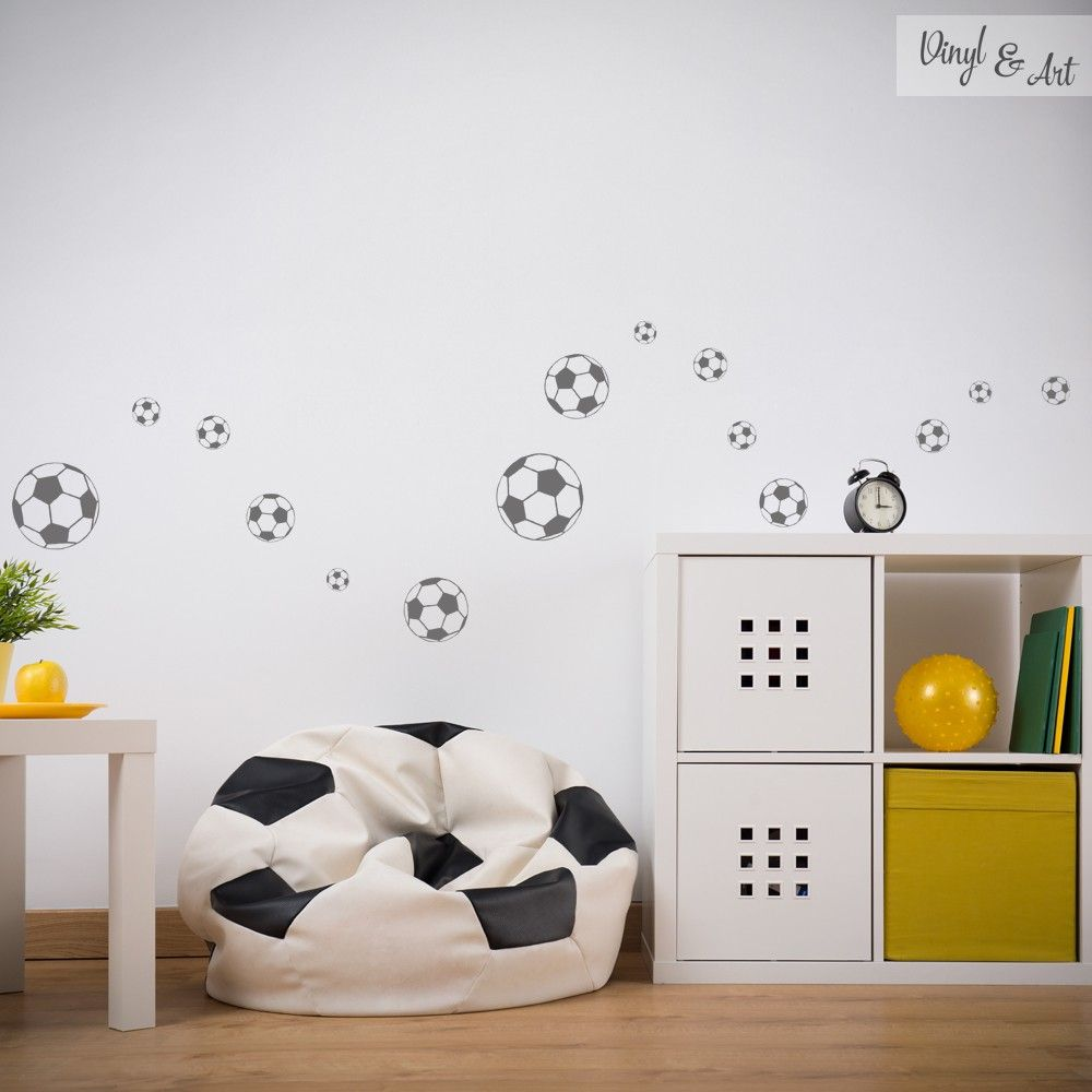 Vinilos Decorativos Futbol Vinilo Decorativo Balón Football Home Ideas Kids Bedroom