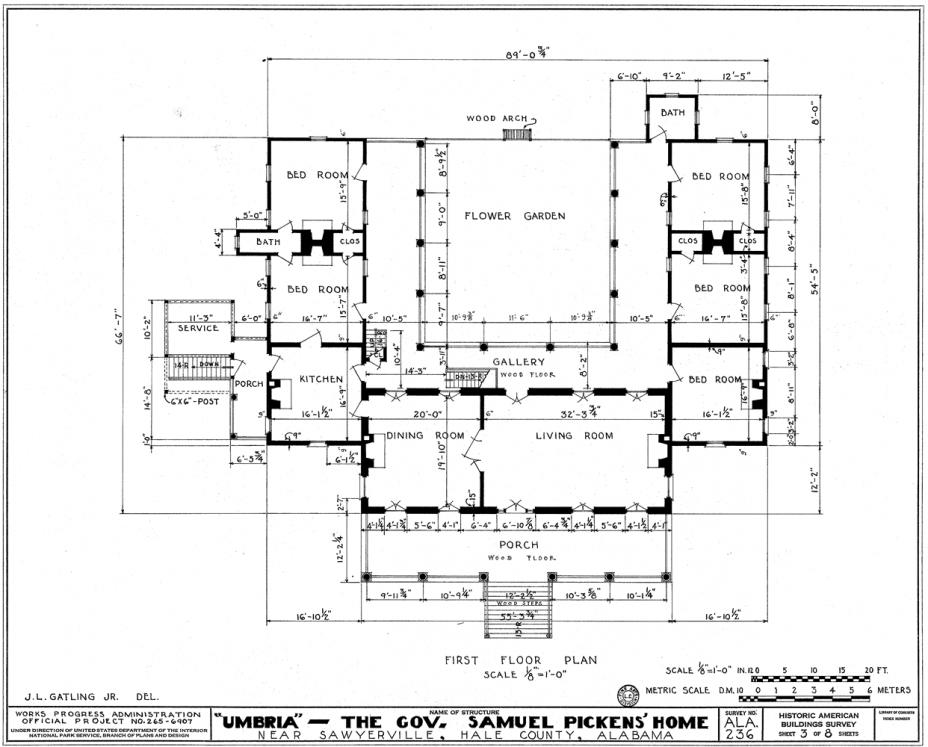 Historic Greek Revival House Plans Archivosweb Com Architectural Floor Plans Architecture Plan Architectural House Plans