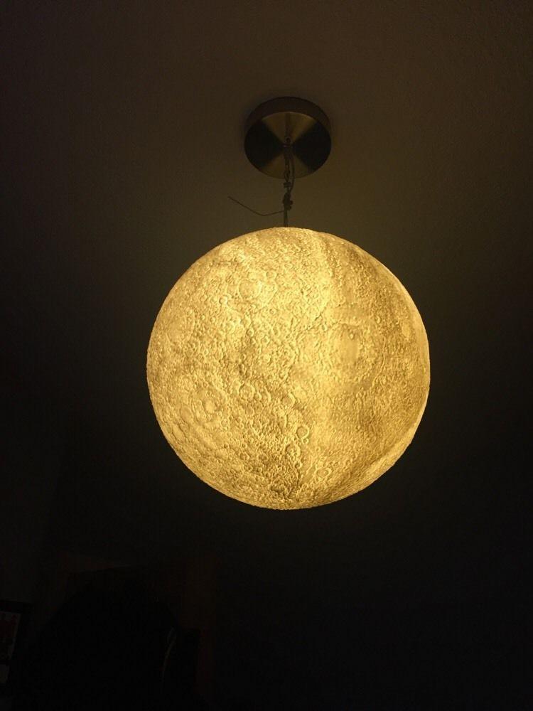 Spectacular Habitat Moon Light Shade eBay