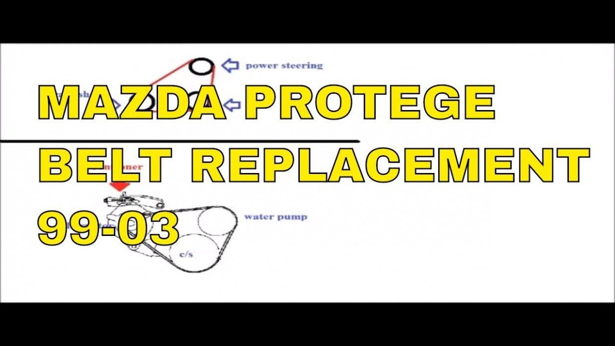 Alternator Belt Replacement Mazda Protege Alternator Belt Replacement Mazda Protege