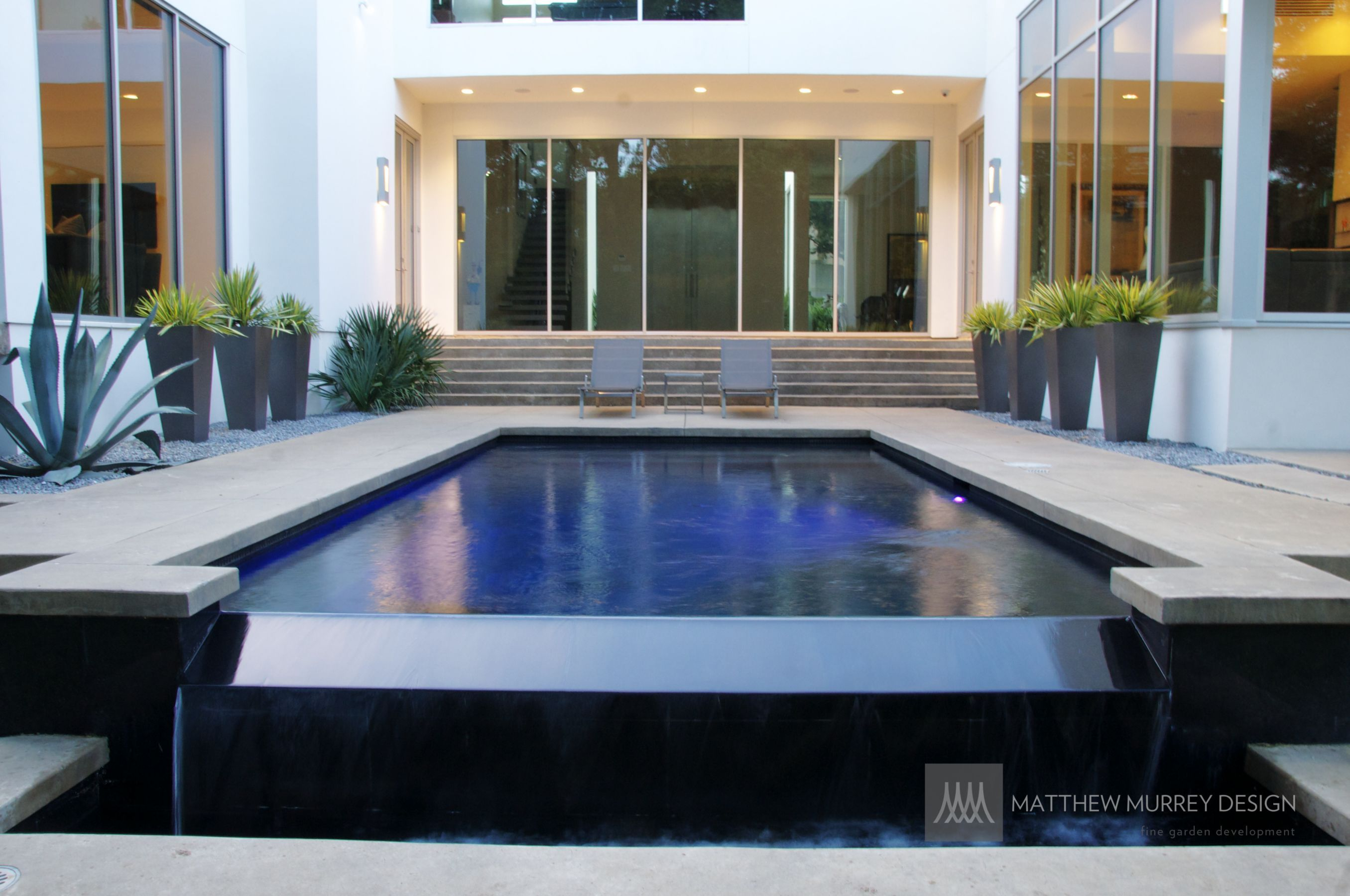 MMD- Contemporary Negative Edge Pool Details | :: POOL & SPA ...