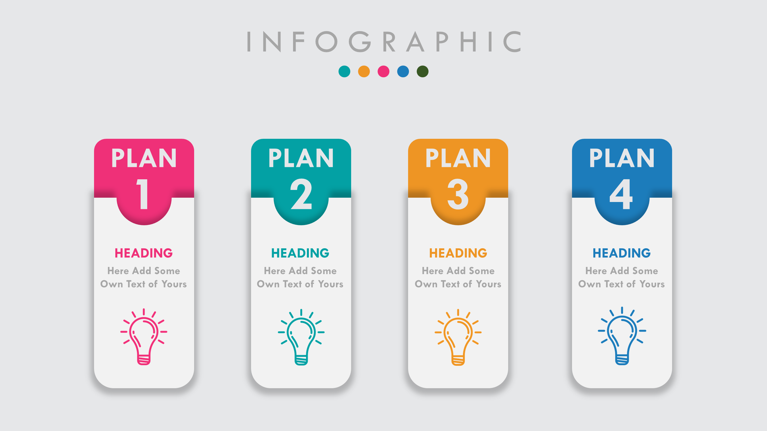 PowerPoint Animated Slide Template Infographic