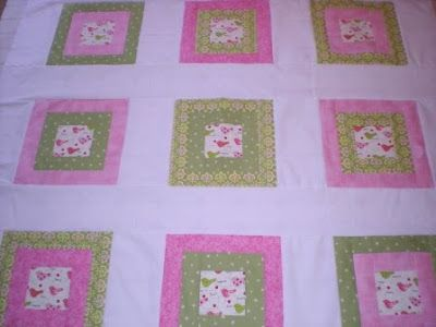 Why Not Sew?: Block Instructions for Pink and Green Chemo Quilt