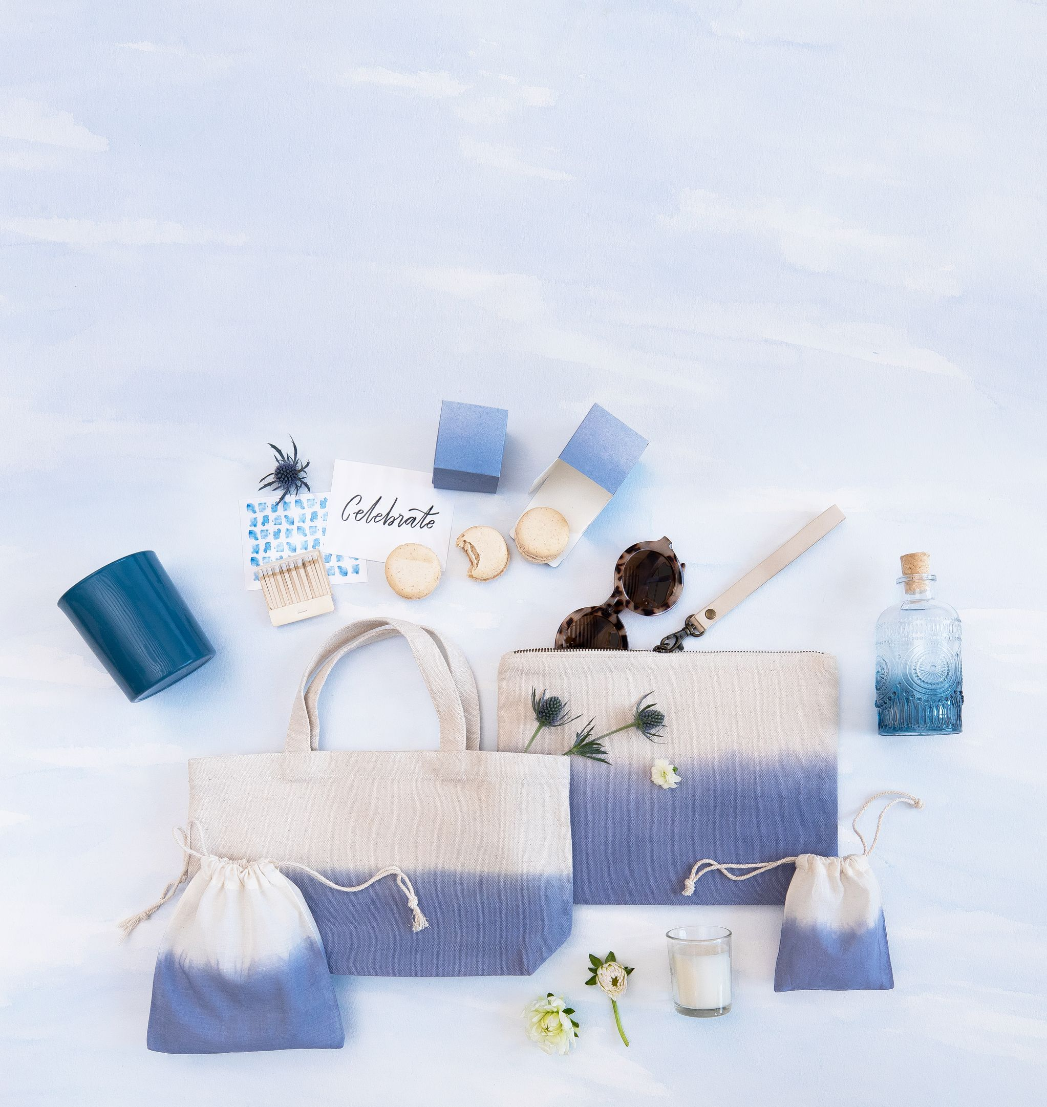 The Minted Weddings Color Library - Provincial Blue. Chic wedding ...