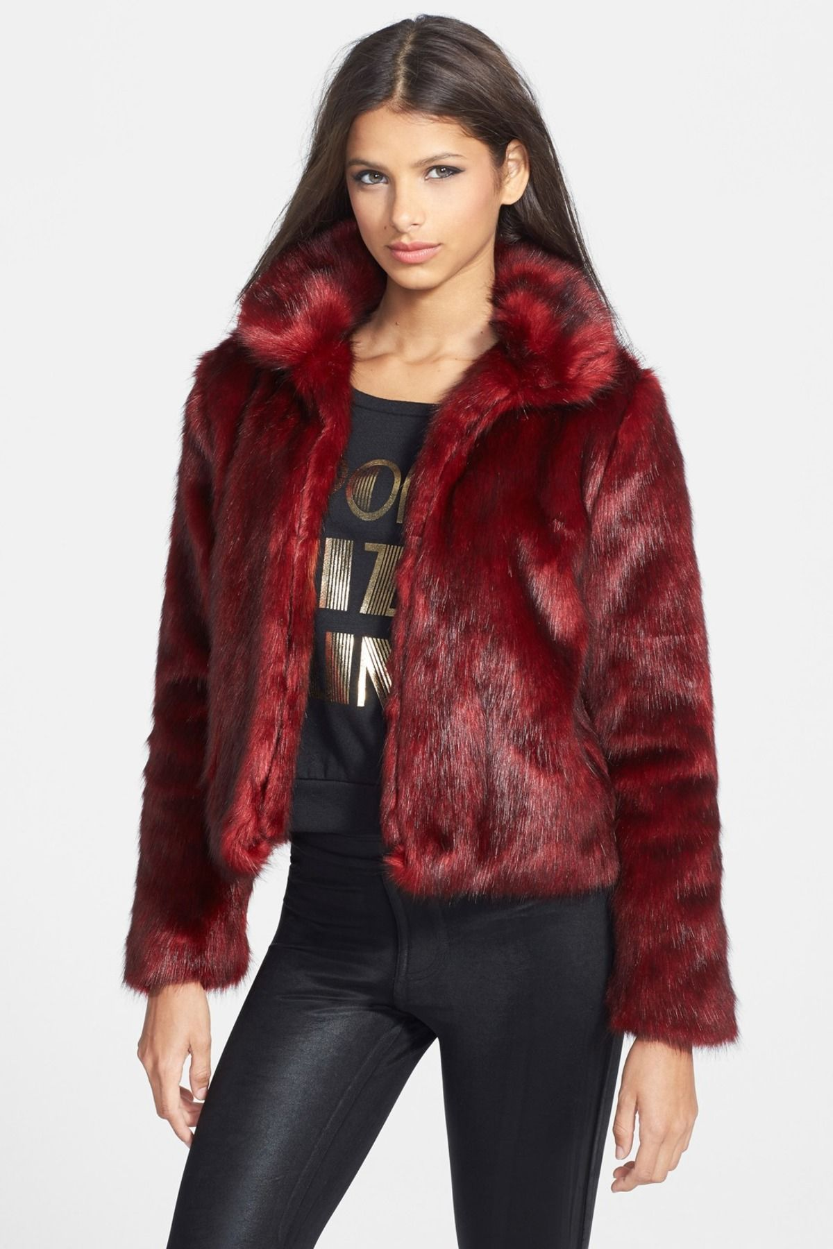 Pin by Zaz on Am I too old to wear this? Fur jacket