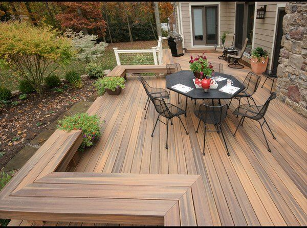 Composite Decking Patio Deck Design Ideas Iron Outdoor Furniture