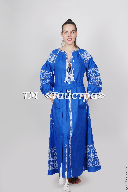 35d583dd992 Платья ручной работы. Ярмарка Мастеров - ручная работа. Купить Платье бохо  вышитое