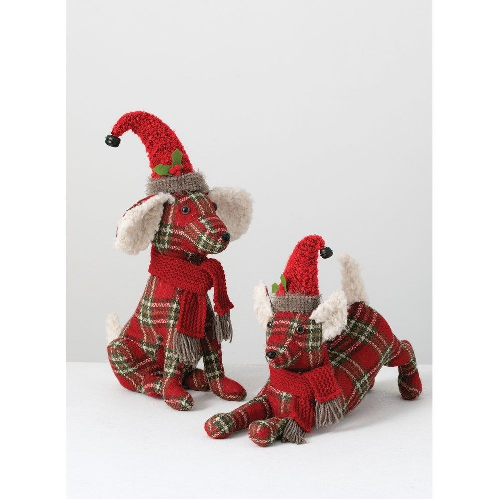 Christmas Dog -Set of 2, Sullivans