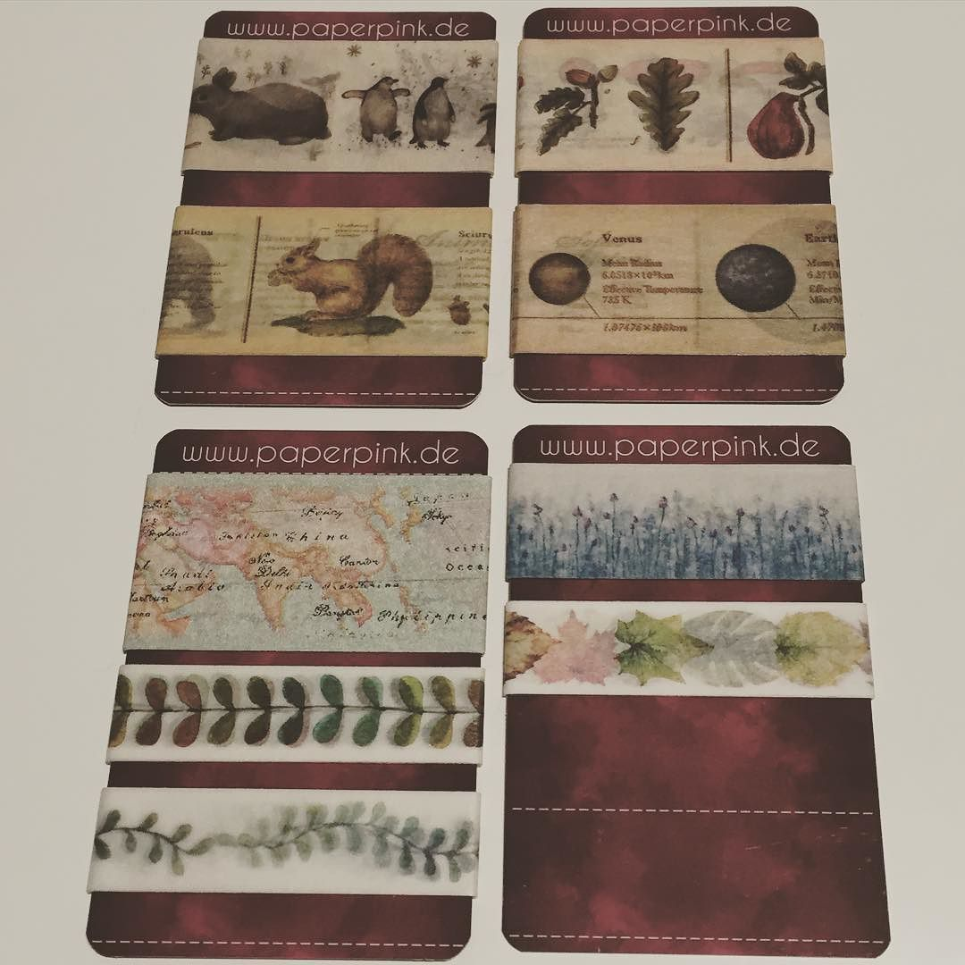 Heute kam endlich meine #paperpink Bestellung an  #washitape #maskingtape #samples #filo #filofaxing #filolove #filofaxerei #filofax #planner #planning #plannergirl #planneraddict #scrapbooking #plants #nature #mt #enciclopedia by cutmeoutinstars