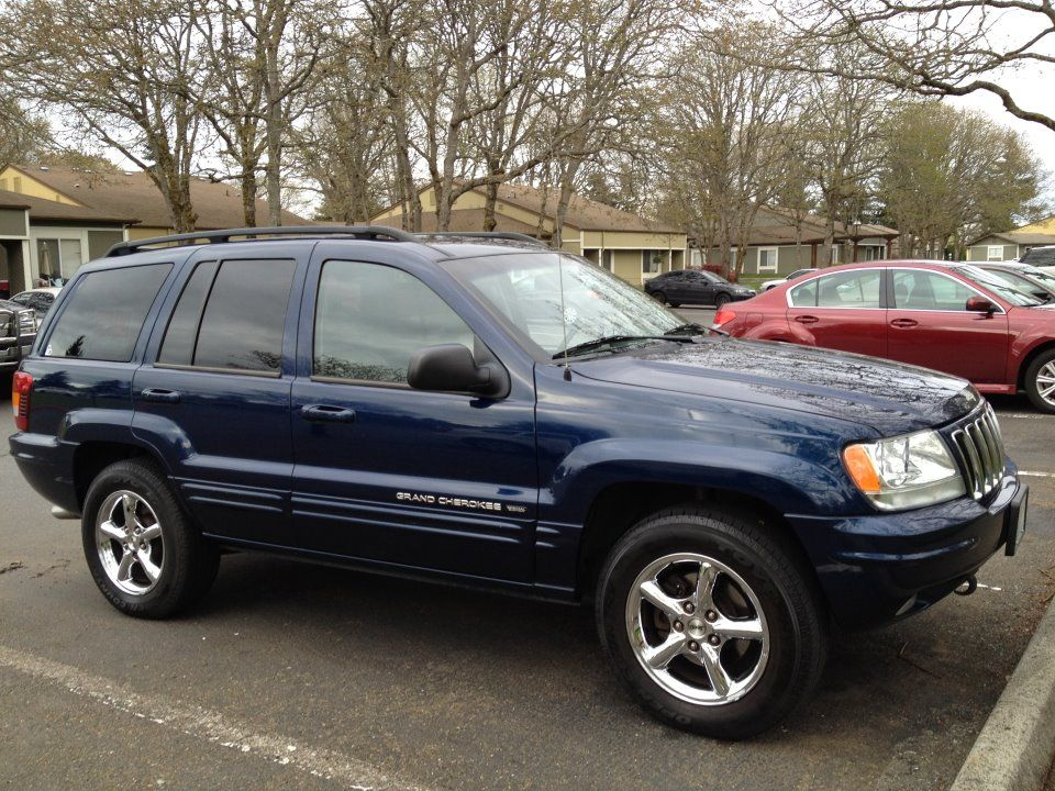 4th Jeep Blue This Color Shown Jeep Grand Cherokee Ltd Jeep