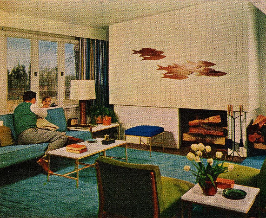 Color Harmony Mid Century Modern Mid Century Modern Living Room Mid Century Modern Decor Mid Century Modern Design #vintage #mid #century #modern #living #room