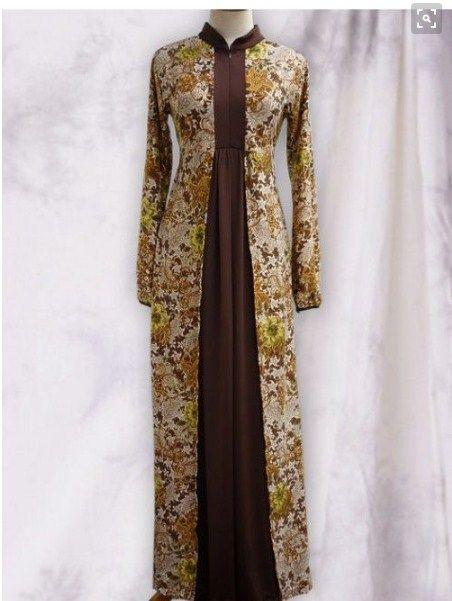 ModelBajuLongDressBatikjpg 452601  Baju Muslim Batik