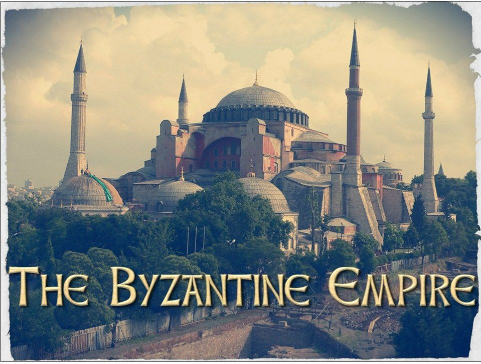 Byzantine Empire and Constantinople PowerPoint World