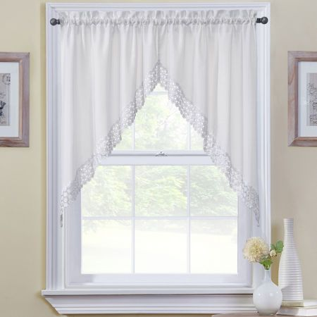 Buy Hanna Rod Pocket Swag Valance Today At Jcpenney Com You