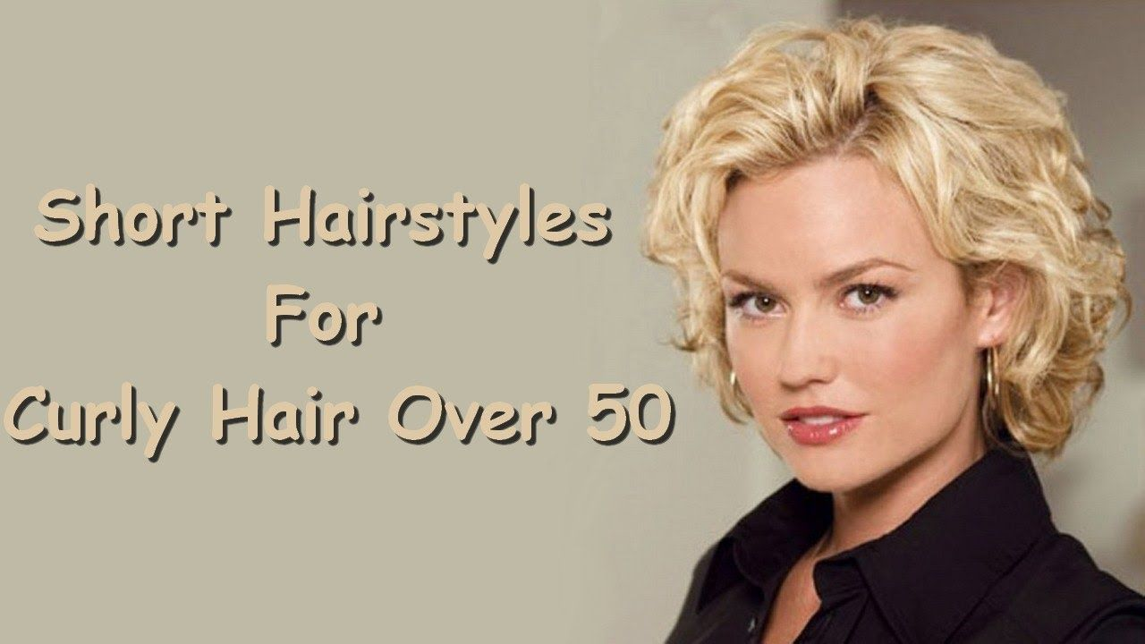 Short Hairstyles For Curly Hair Over Httpswwwyoutubecom - Youtube short curly hair