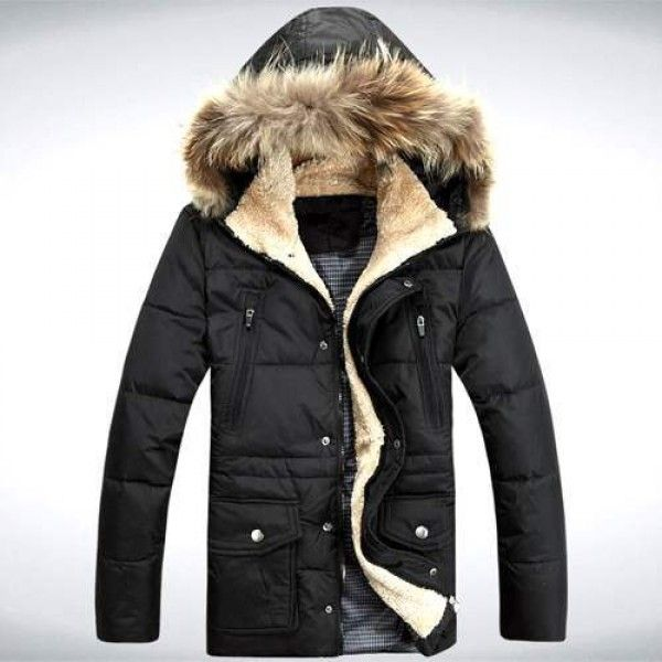 Très Doudoune Homme Trek Grand luxe Chic Parka longue Fashion Men  KL38