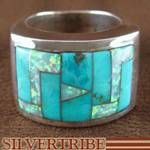 WhiteRock Turquoise Opal and Sterling Silver Ring