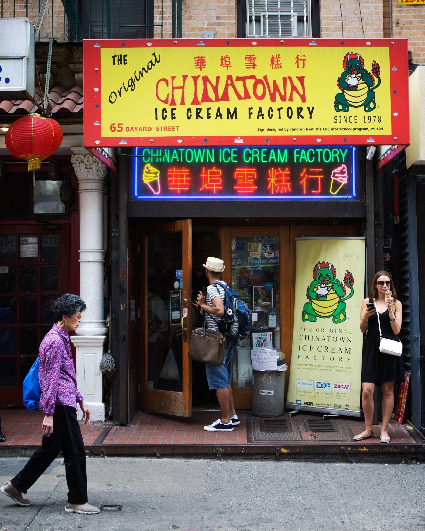 Chinatown Ice Cream Factory Where A Scoop Of Durian Is Plain Vanilla Ice Cream Factory New York Chinatown Chinatown