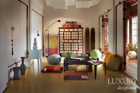 Traditional + Modern Korean Interior Design   Asian home style ...