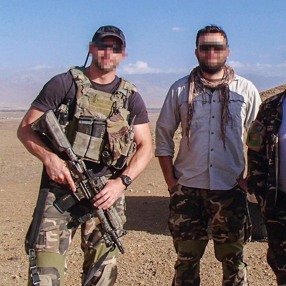 British Special Boat Service (SBS) troopers in Afghanistan