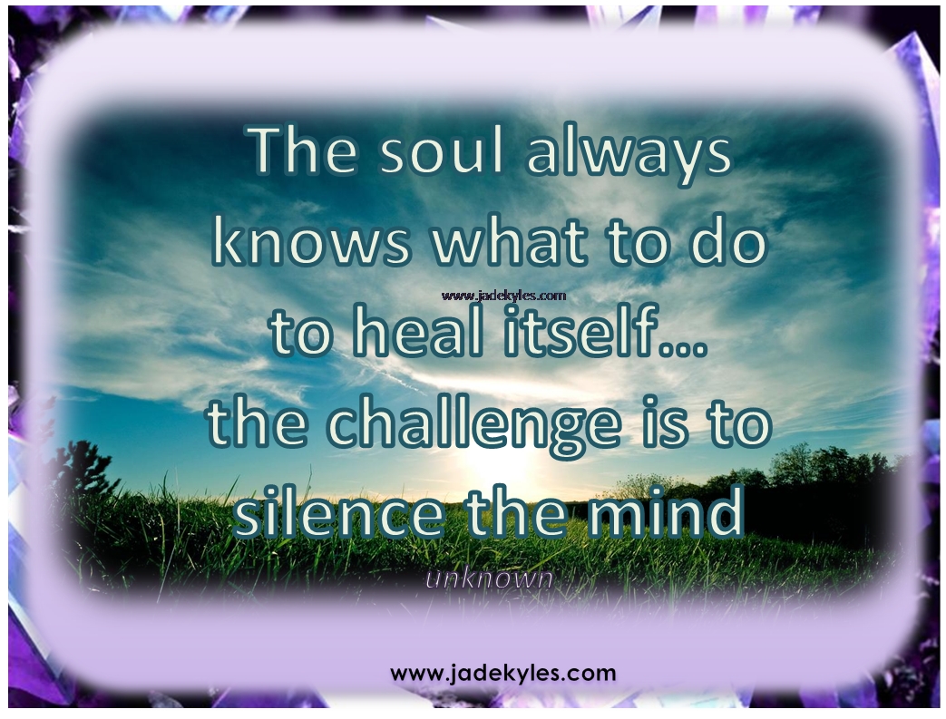 Psychic Quotes Silence.*´¨•´¸.•*´¨ ¸.•*¨ Blessings ¸.•´ ¸.•` ¤ Jade