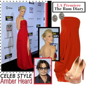 Celeb Style: Amber Heard at the LA Premiere of The Rum Diary