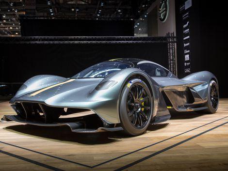 Aston Martin Valkyrie Tears Its Way Into Geneva Dream Cars