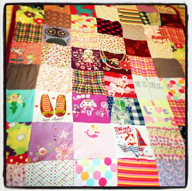 How to make your own memory quilt | arts & crafts | Pinterest ... : memory quilts from old clothes - Adamdwight.com