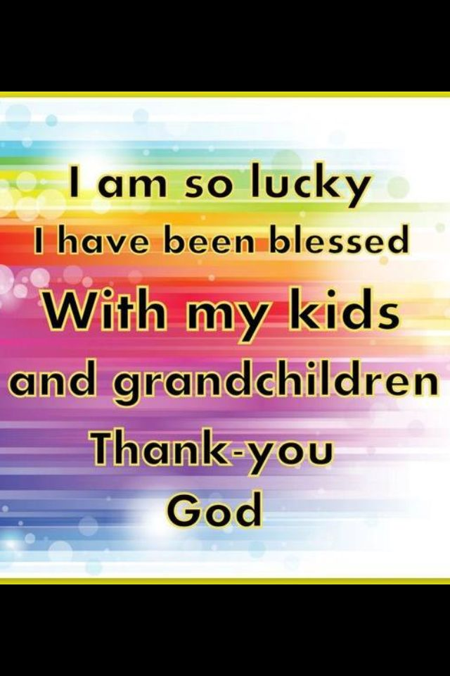 Thank you, Jesus, for all my family