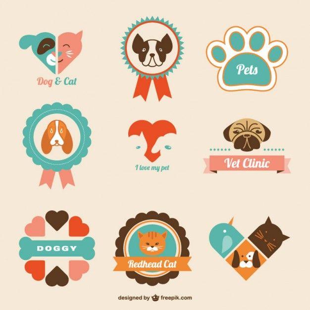 Download Retro Veterinary Clinic Logos For Free Dog Icon Dog Logo Design Pets