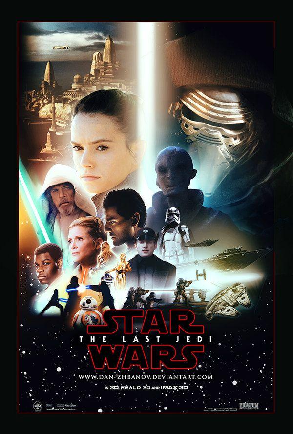 Streaming Star Wars 8 : streaming, Dan-zhbanov, DeviantArt, Awesome,, Movies, Posters,, Images