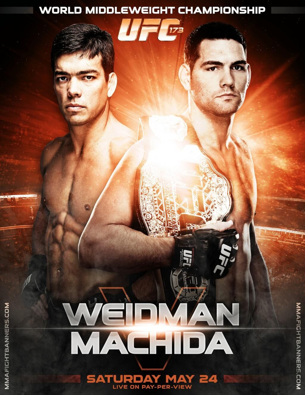Mma Banners Design On Twitter Ufc Poster Mma Events Mma