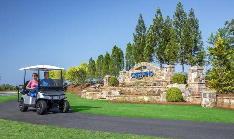 Cresswind Peachtree City Is A 55 Golf Cart Community In Peachtree City Ga 25 Minutes From Atlanta See Photos Peachtree City City Home Builders Association