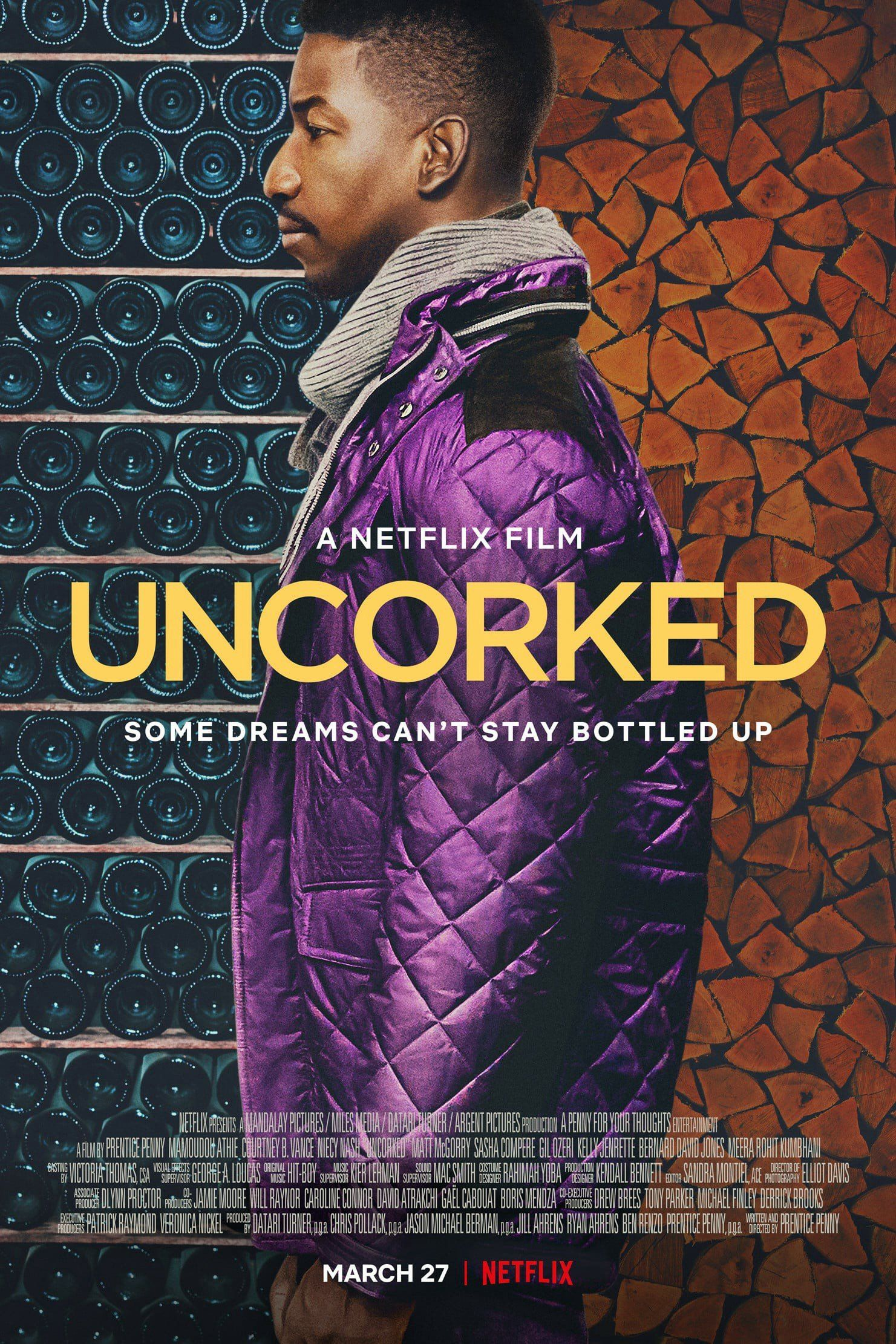 Film Review Take a Sip of Netflix's 'Uncorked' in 2020