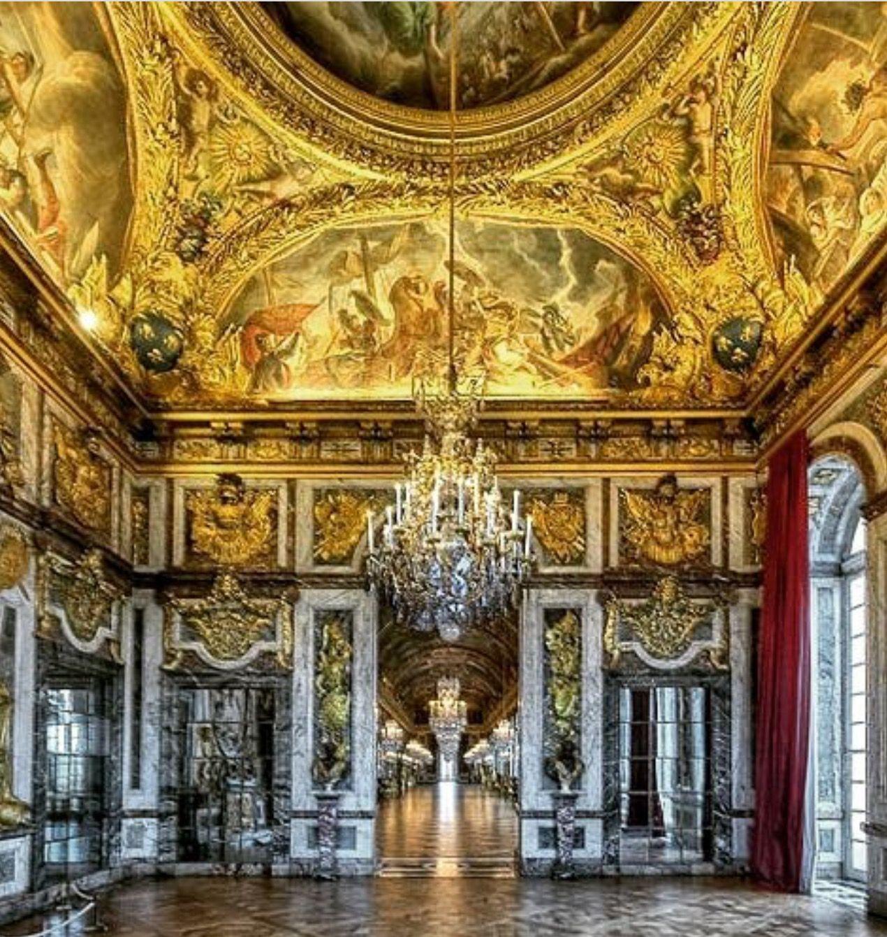 265 versailles salon de la guerre looking into the for Salon de versailles 2016