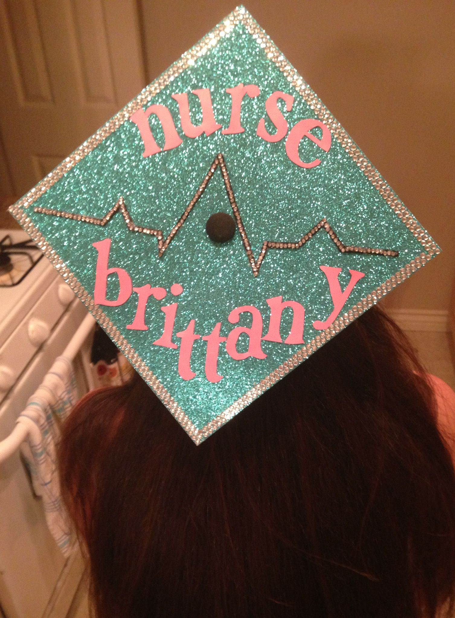 I decorated my graduation cap for my college graduation ...