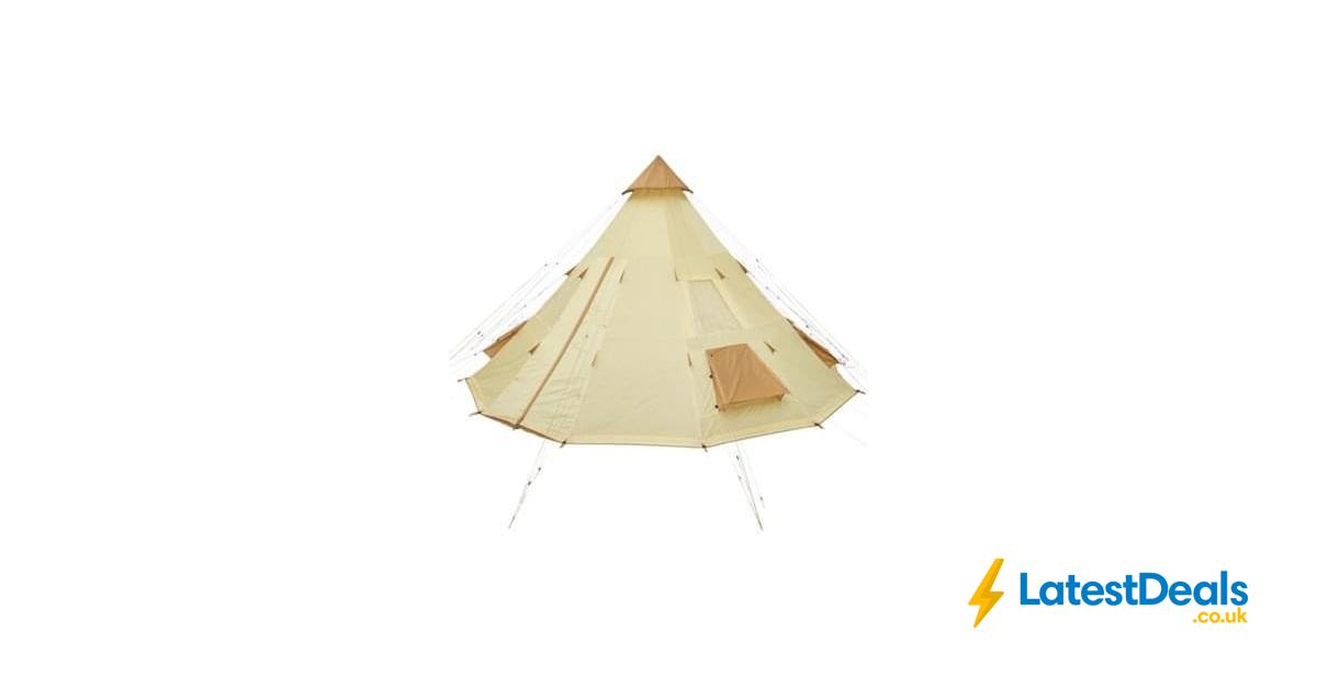 quite nice 860cf af078 Tesco 12 Man Teepee Tent *HALF PRICE* Free C+C, £100 ...