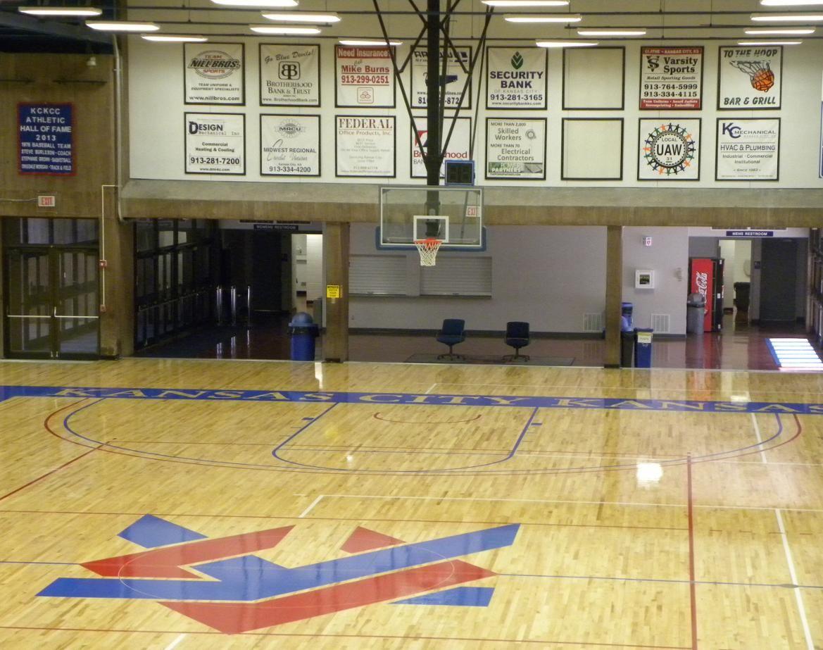 Kckcc Fieldhouse Kansas City Kansas Community College Basketball Plays Kansas City Community College